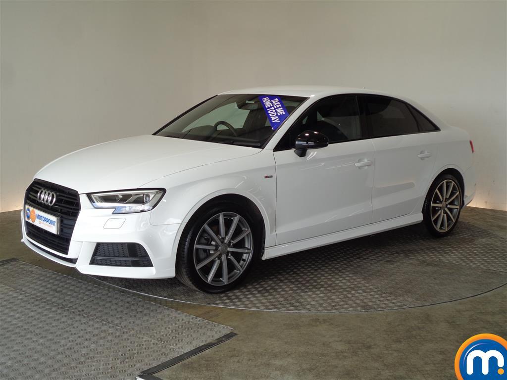 Audi A3 Black Edition - Stock Number (1032676) - Passenger side front corner
