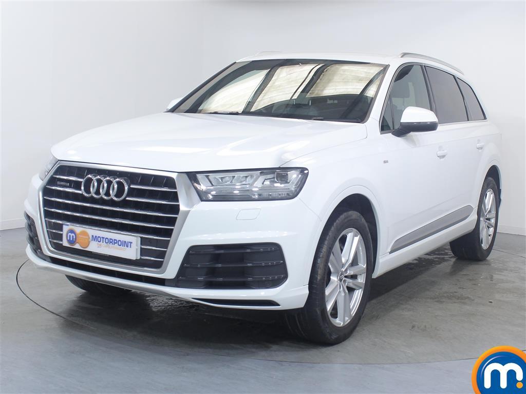 Audi Q7 S Line - Stock Number (1033329) - Passenger side front corner