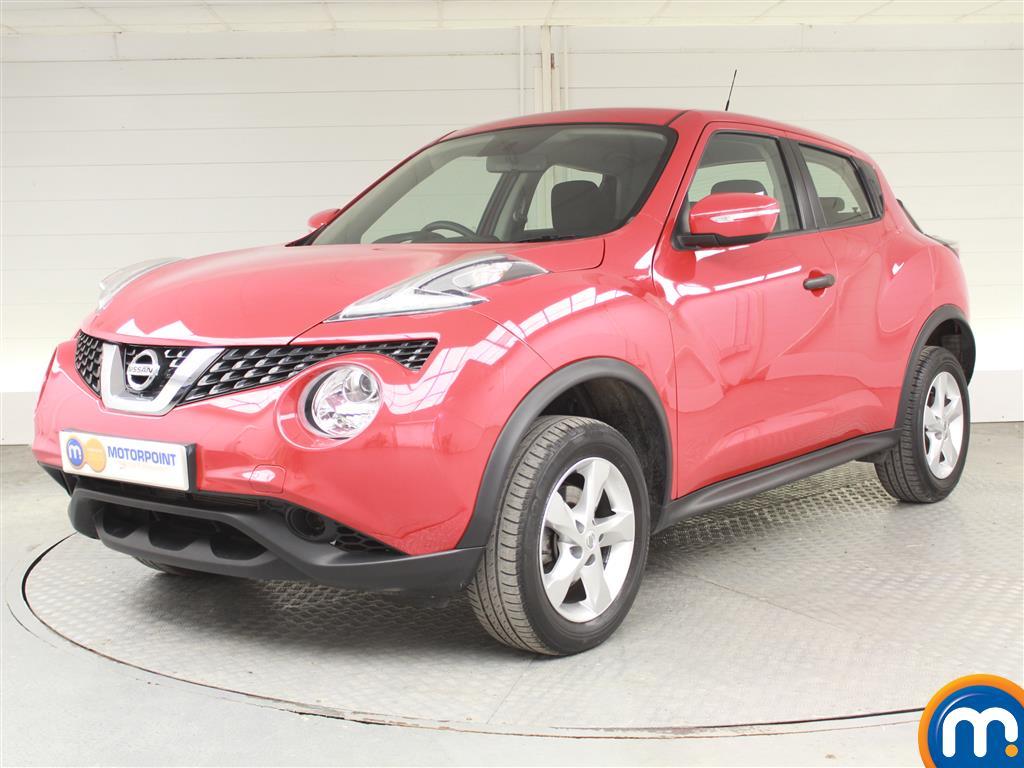 Nissan Juke Visia - Stock Number (1031656) - Passenger side front corner