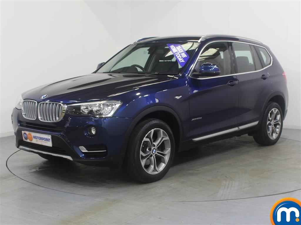 BMW X3 xLine - Stock Number (1034074) - Passenger side front corner