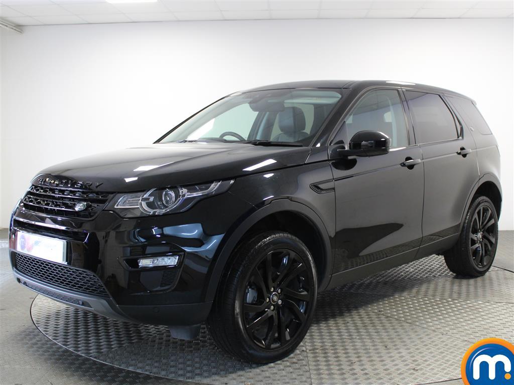 Land Rover Discovery Sport HSE Black - Stock Number 1034121 Passenger side front corner