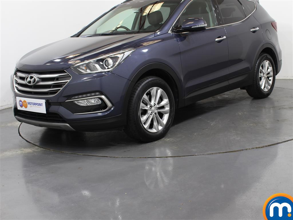 Hyundai Santa Fe Premium - Stock Number 1030212 Passenger side front corner