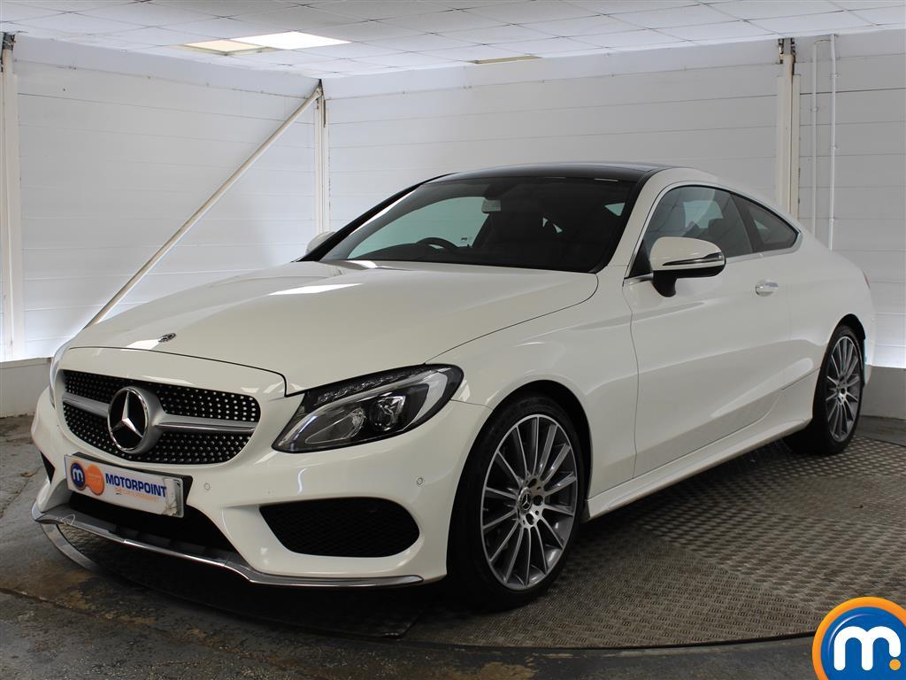 Mercedes-Benz C Class AMG Line - Stock Number (1036499) - Passenger side front corner