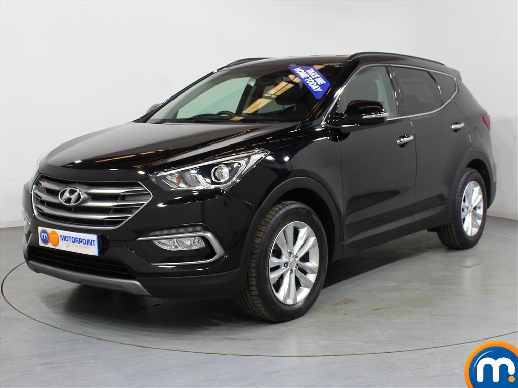 Hyundai Santa Fe Premium - Stock Number (1030205) - Passenger side front corner