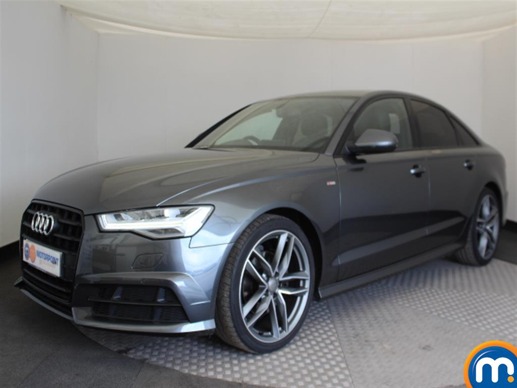 Audi A6 Black Edition - Stock Number (1032185) - Passenger side front corner