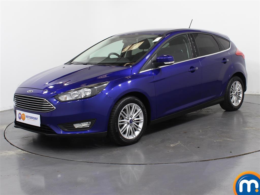 Ford Focus Zetec Edition - Stock Number (1030402) - Passenger side front corner