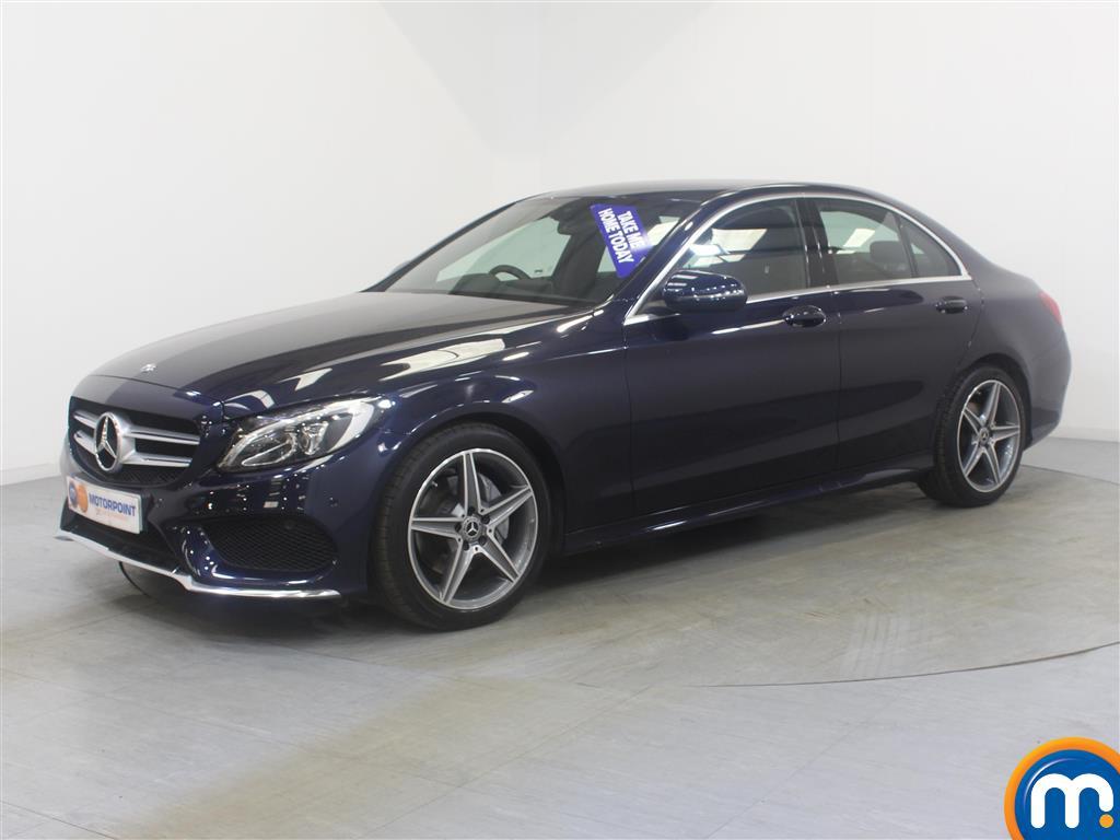 Mercedes-Benz C Class AMG Line - Stock Number (1024234) - Passenger side front corner