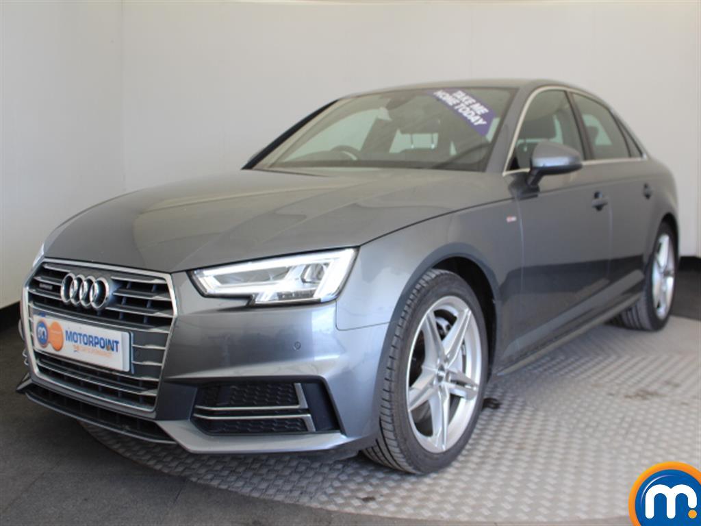 Audi A4 S Line - Stock Number (1033334) - Passenger side front corner