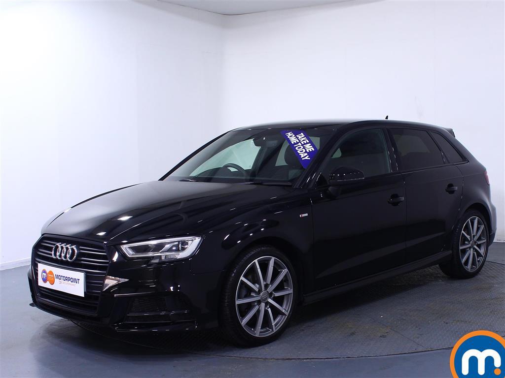 Audi A3 Black Edition - Stock Number (1030380) - Passenger side front corner