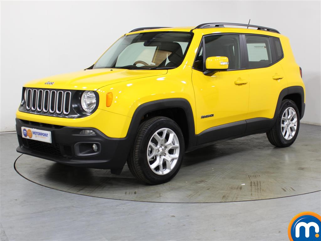 Jeep Renegade Longitude - Stock Number (1035896) - Passenger side front corner