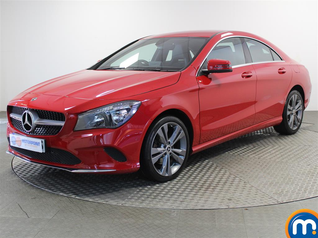 Mercedes-Benz Cla Class Sport - Stock Number (1035955) - Passenger side front corner