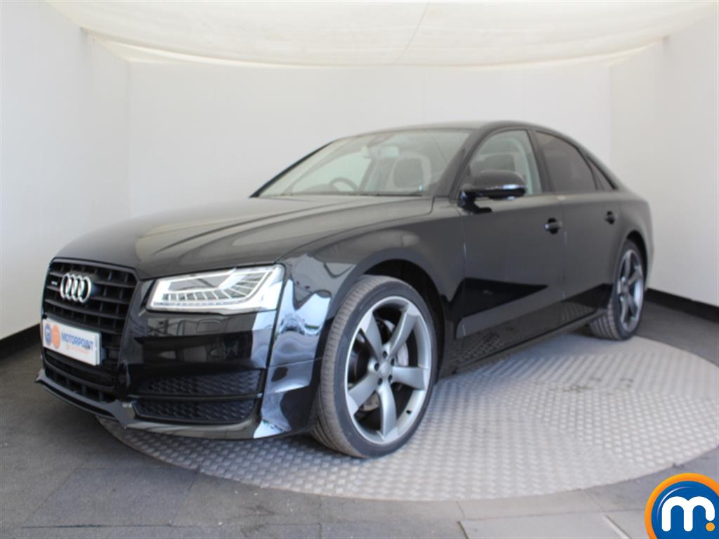 Audi A8 Black Edition - Stock Number (1032196) - Passenger side front corner