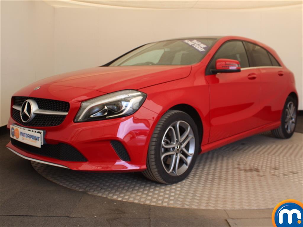 Mercedes-Benz A Class Sport Edition - Stock Number (1032670) - Passenger side front corner