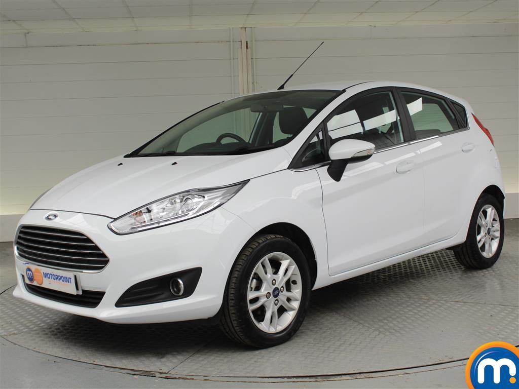 Ford Fiesta Zetec - Stock Number (1029637) - Passenger side front corner