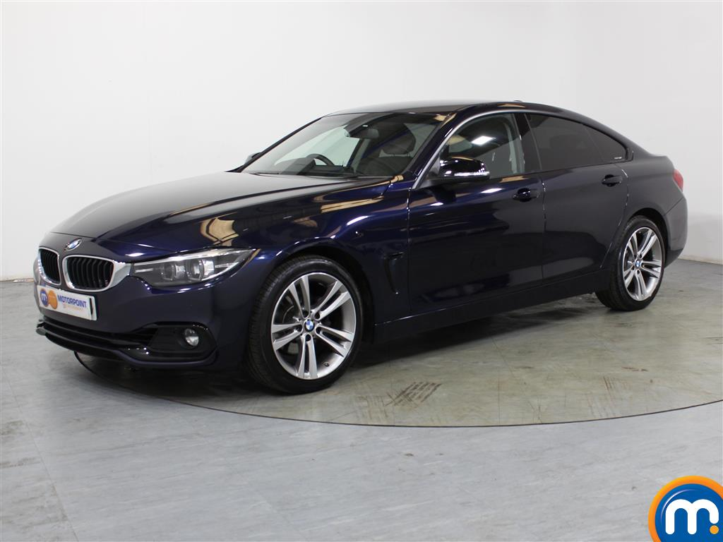 BMW 4 Series Sport - Stock Number (1018229) - Passenger side front corner