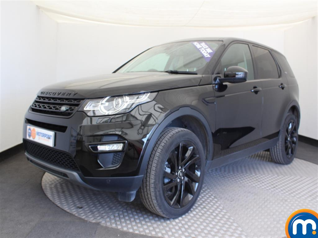Land Rover Discovery Sport HSE Black - Stock Number (1034109) - Passenger side front corner