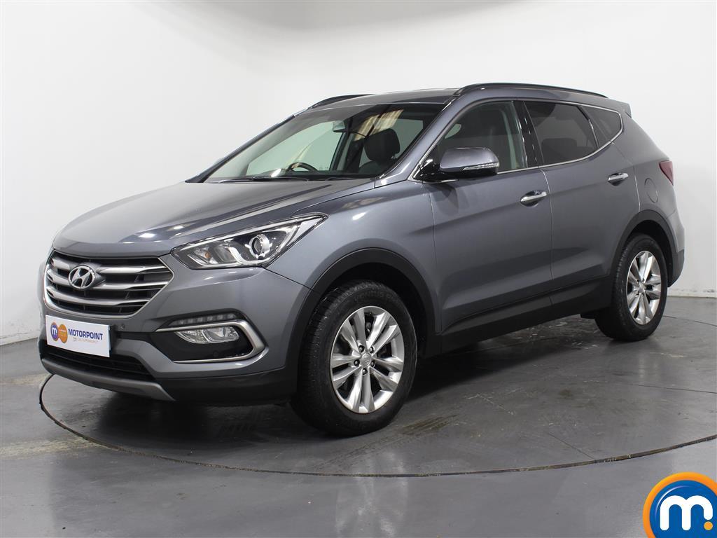 Hyundai Santa Fe Premium - Stock Number (1030209) - Passenger side front corner