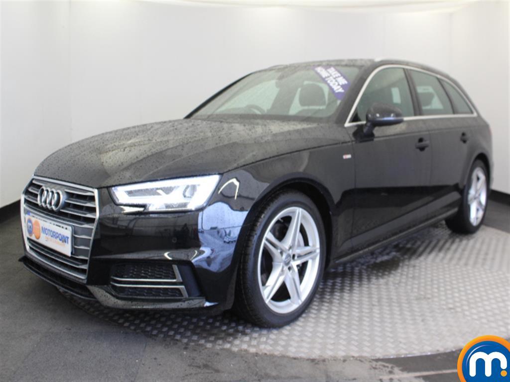 Audi A4 S Line - Stock Number 1033339 Passenger side front corner