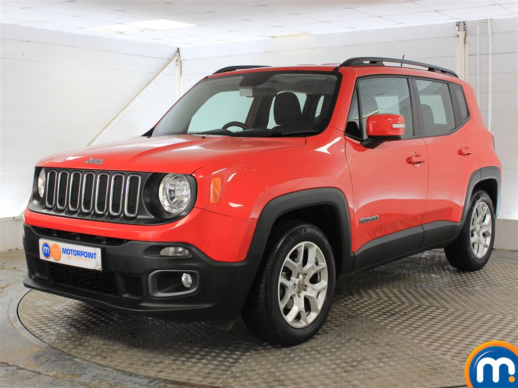 Jeep Renegade Longitude - Stock Number (1038188) - Passenger side front corner