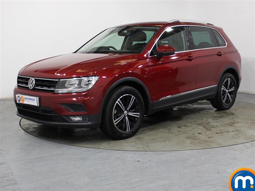Volkswagen Tiguan SE Nav - Stock Number (1035235) - Passenger side front corner