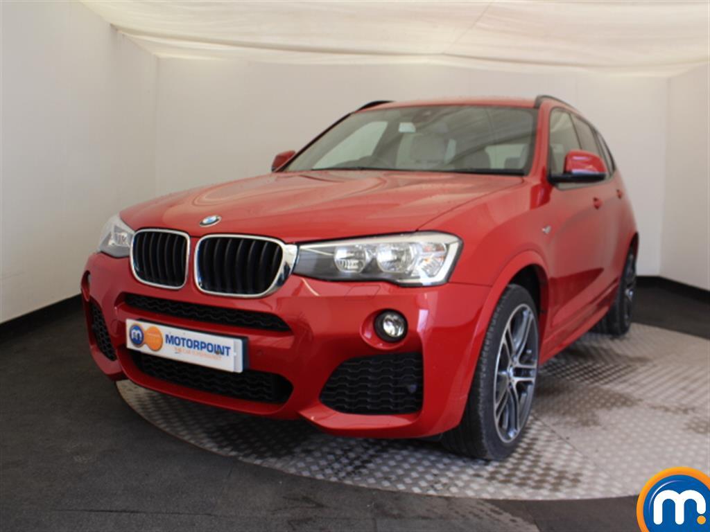 BMW X3 M Sport - Stock Number (1035035) - Passenger side front corner