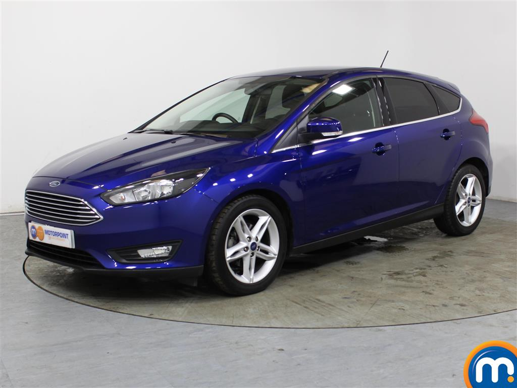 Ford Focus Zetec Edition - Stock Number (1034597) - Passenger side front corner