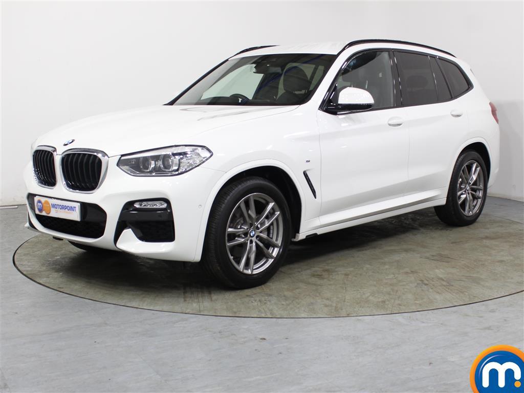 BMW X3 M Sport - Stock Number 1034731 Passenger side front corner