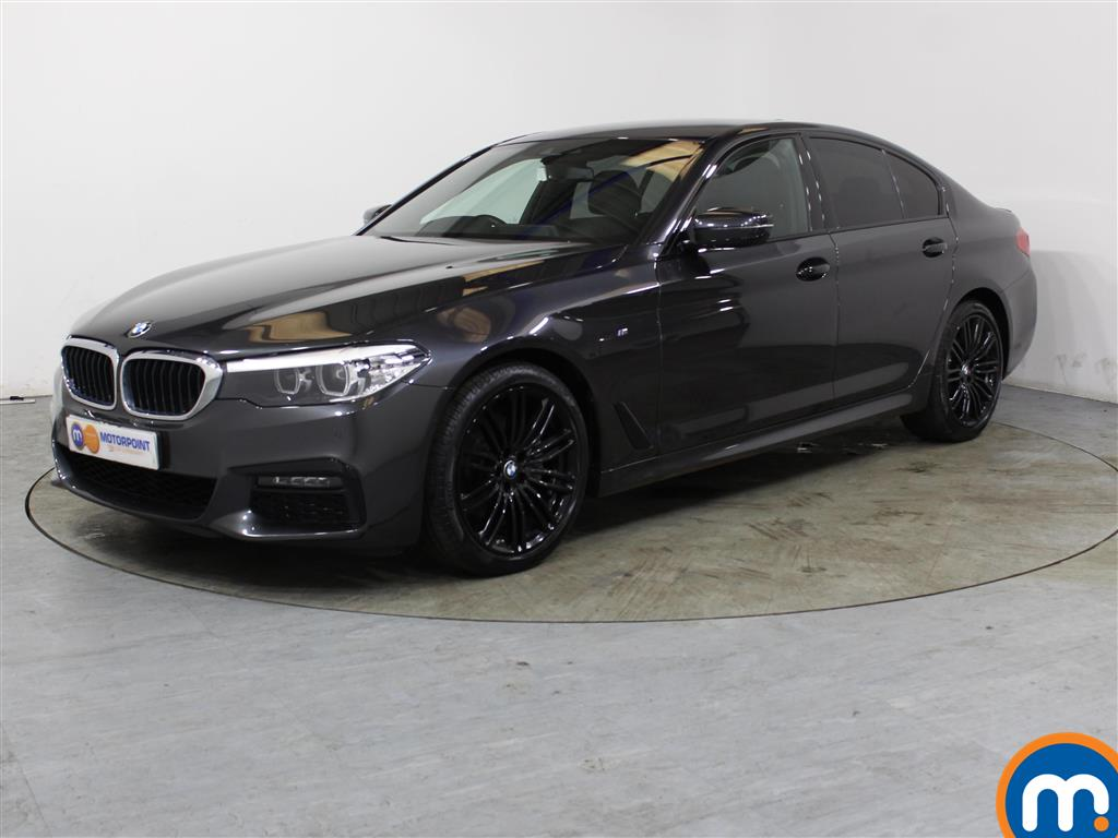 BMW 5 Series M Sport - Stock Number 1030776 Passenger side front corner