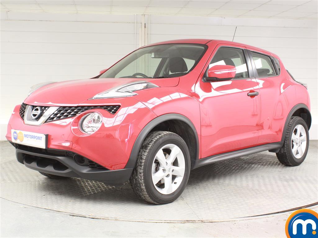 Nissan Juke Visia - Stock Number (1029419) - Passenger side front corner