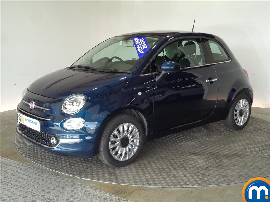 Fiat 500 Lounge - Stock Number 1035018 Passenger side front corner