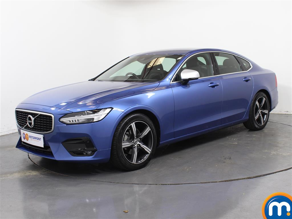 Volvo S90 R DESIGN - Stock Number (1036150) - Passenger side front corner