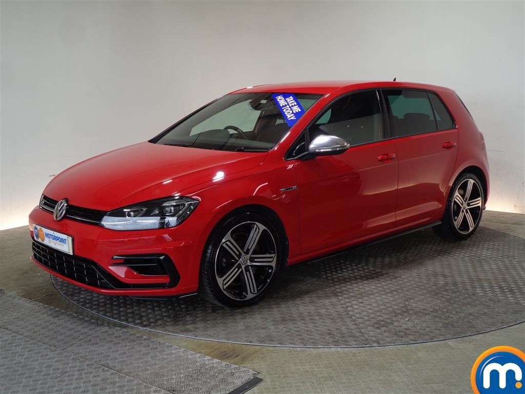 Volkswagen Golf R - Stock Number 1035998 Passenger side front corner