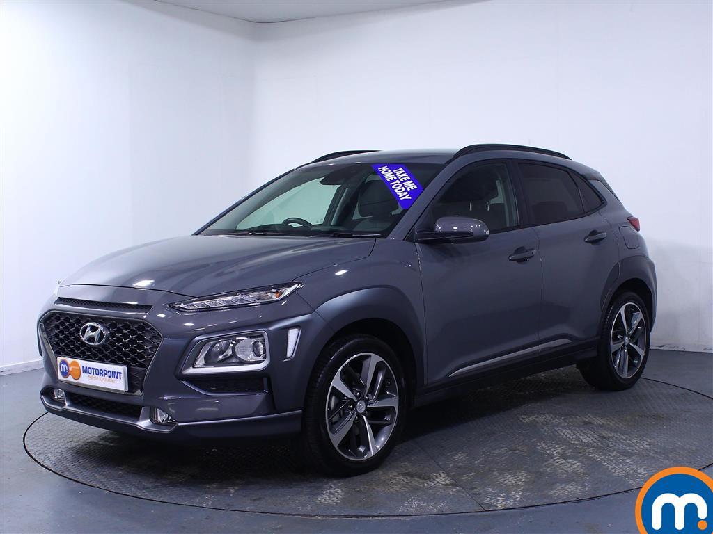 Hyundai Kona Premium SE - Stock Number (1038935) - Passenger side front corner