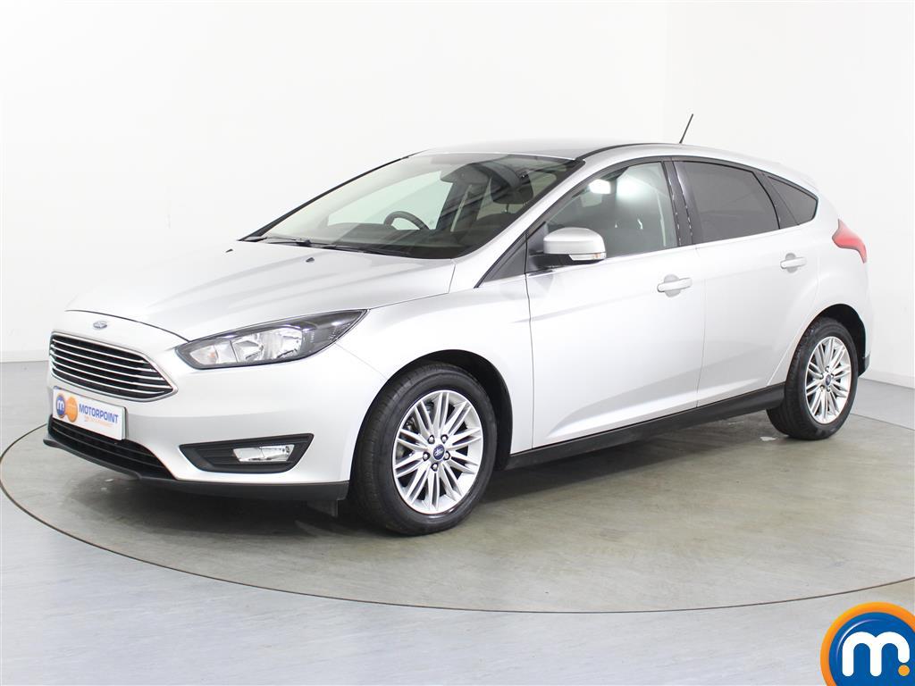 Ford Focus Zetec Edition - Stock Number (1031010) - Passenger side front corner