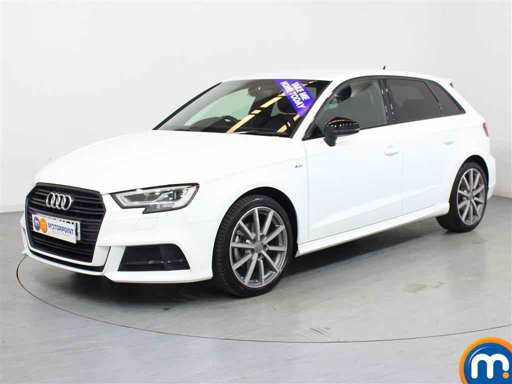 Audi A3 Black Edition - Stock Number 1035092 Passenger side front corner