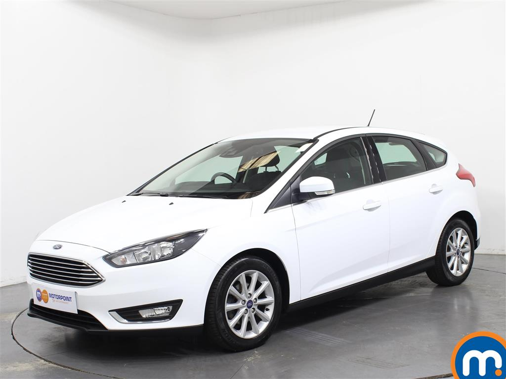Ford Focus Titanium - Stock Number 1031124 Passenger side front corner