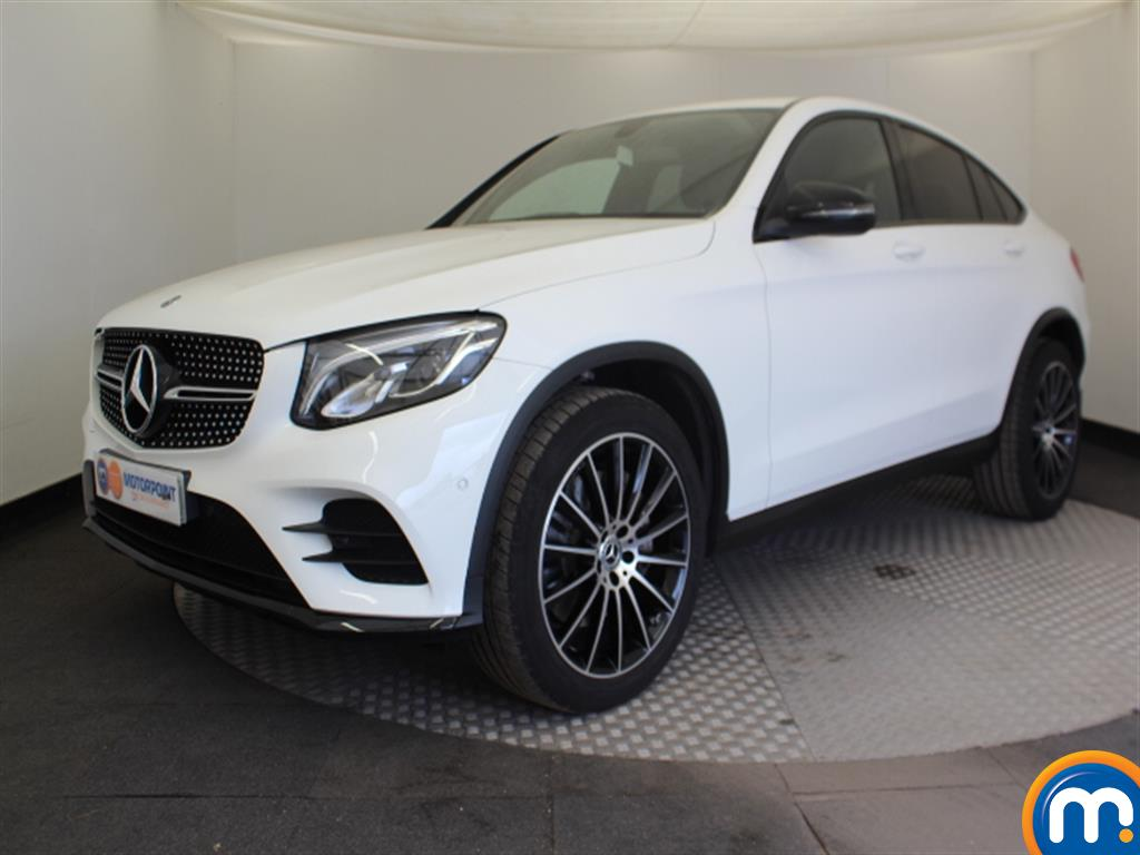 Mercedes-Benz Glc Coupe AMG Line - Stock Number 1036325 Passenger side front corner