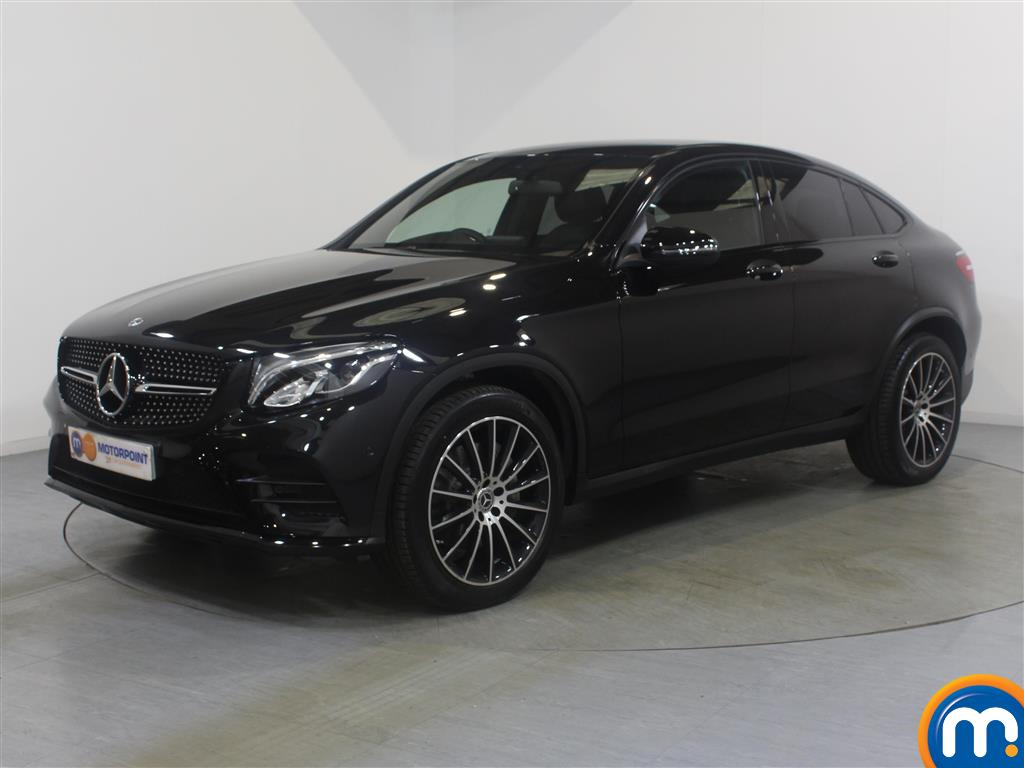 Mercedes-Benz Glc Coupe AMG Line - Stock Number 1036326 Passenger side front corner
