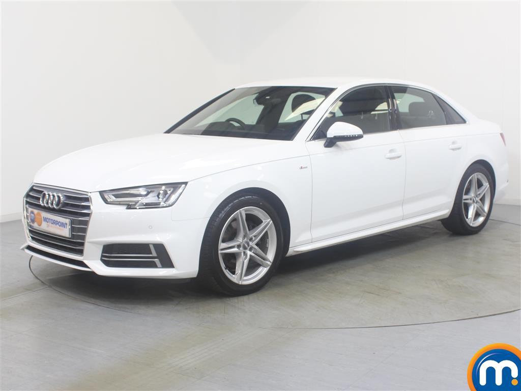 Audi A4 S Line - Stock Number (1037828) - Passenger side front corner