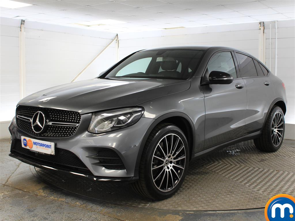 Mercedes-Benz Glc Coupe AMG Line - Stock Number (1036329) - Passenger side front corner