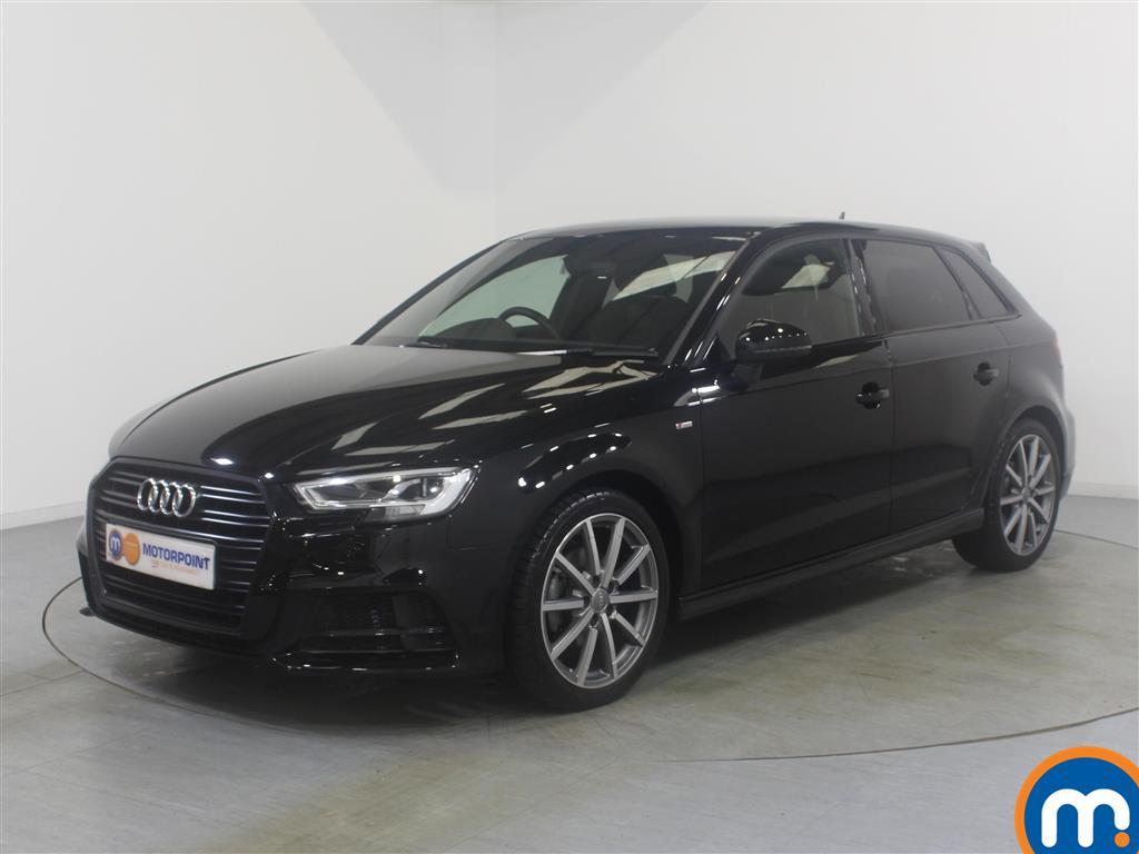 Audi A3 Black Edition - Stock Number 1039328 Passenger side front corner