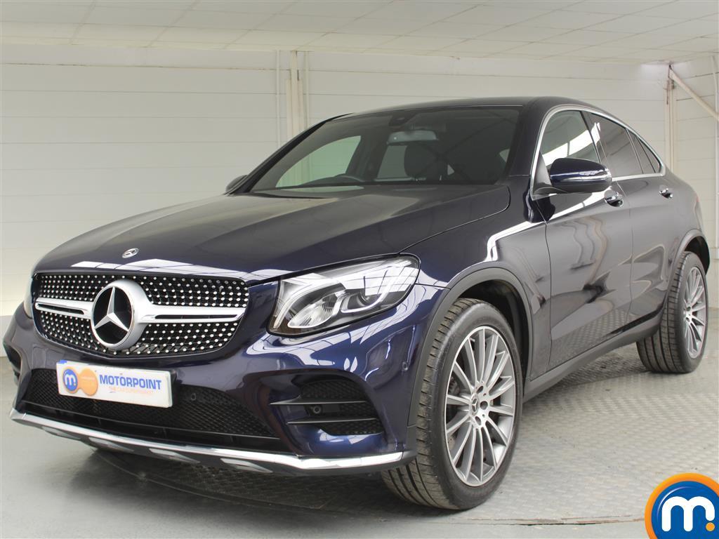 Mercedes-Benz Glc Coupe AMG Line - Stock Number (1035181) - Passenger side front corner