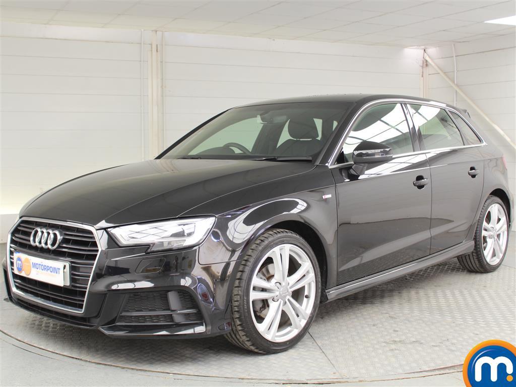 Audi A3 S Line - Stock Number 1035093 Passenger side front corner