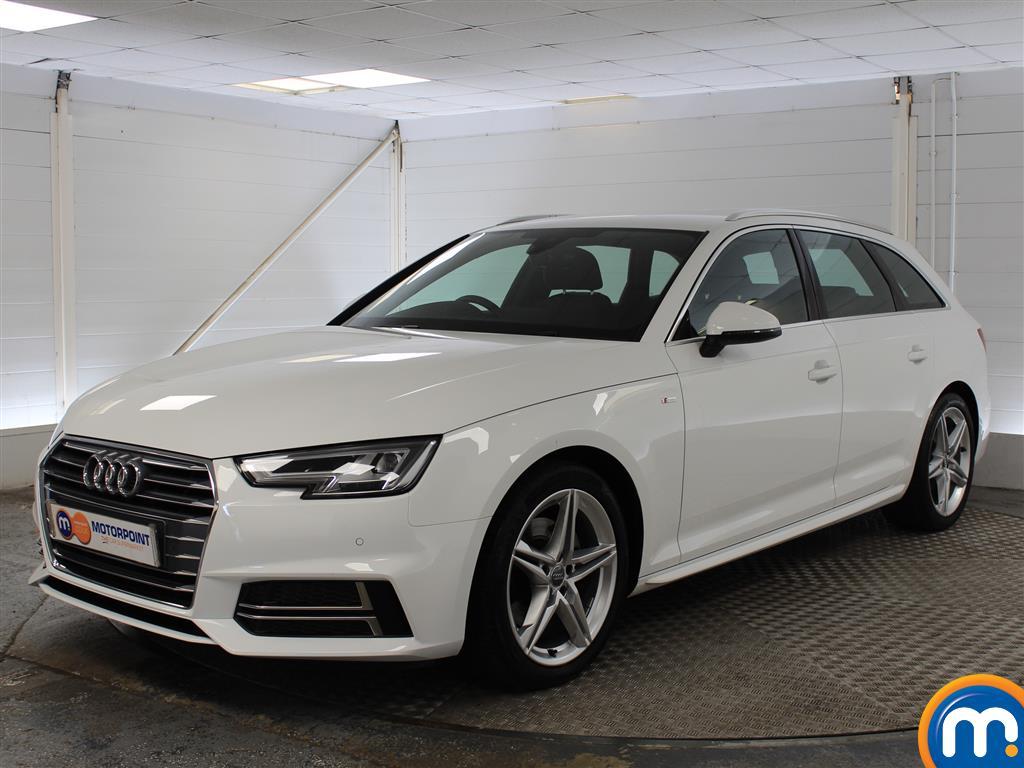 Audi A4 S Line - Stock Number (1040558) - Passenger side front corner
