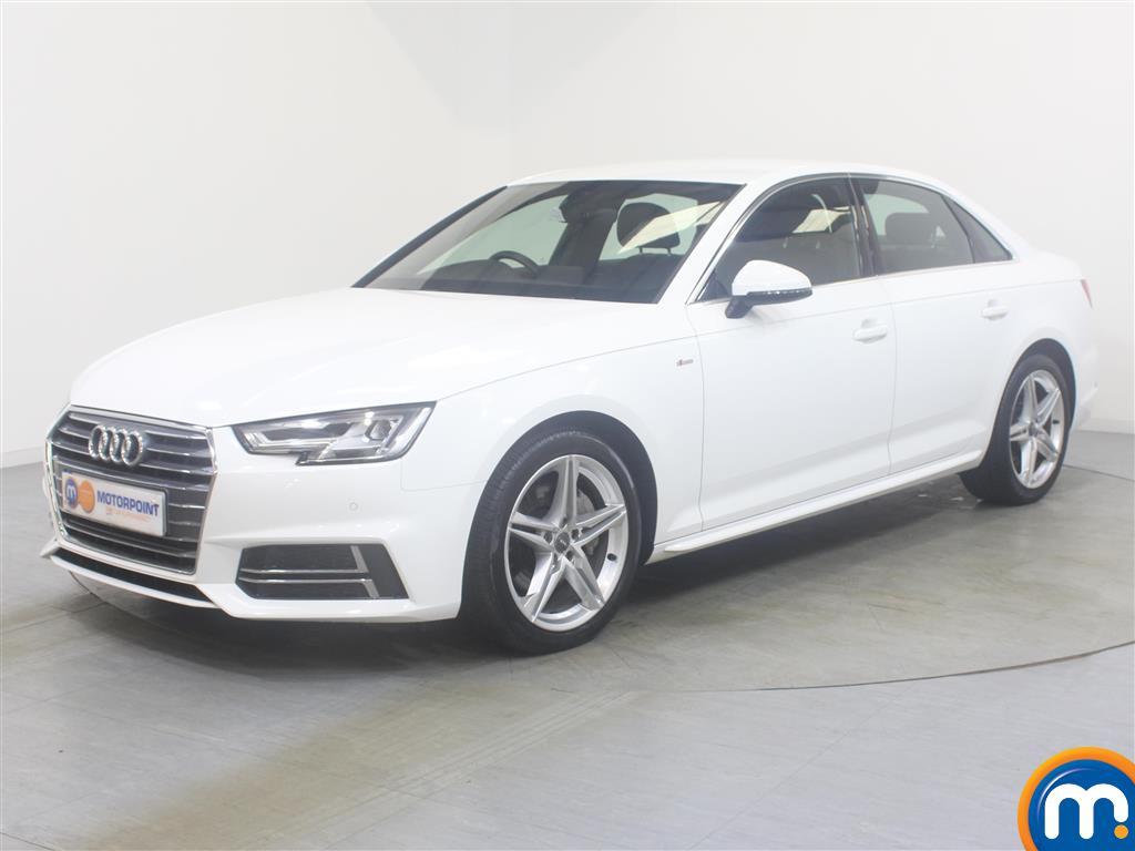 Audi A4 S Line - Stock Number (1037820) - Passenger side front corner