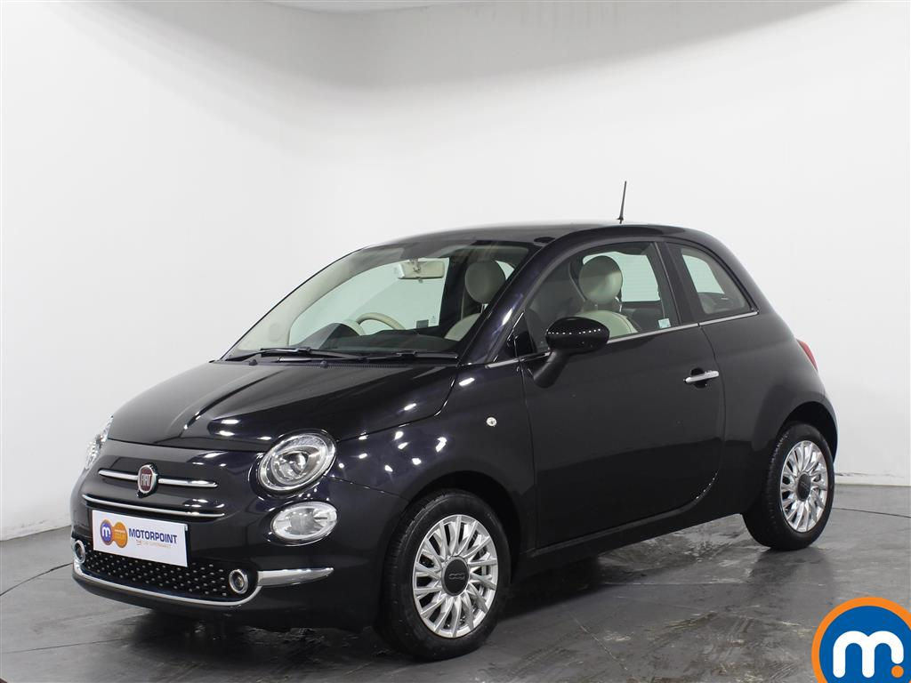 Fiat 500 Lounge - Stock Number 1036572 Passenger side front corner