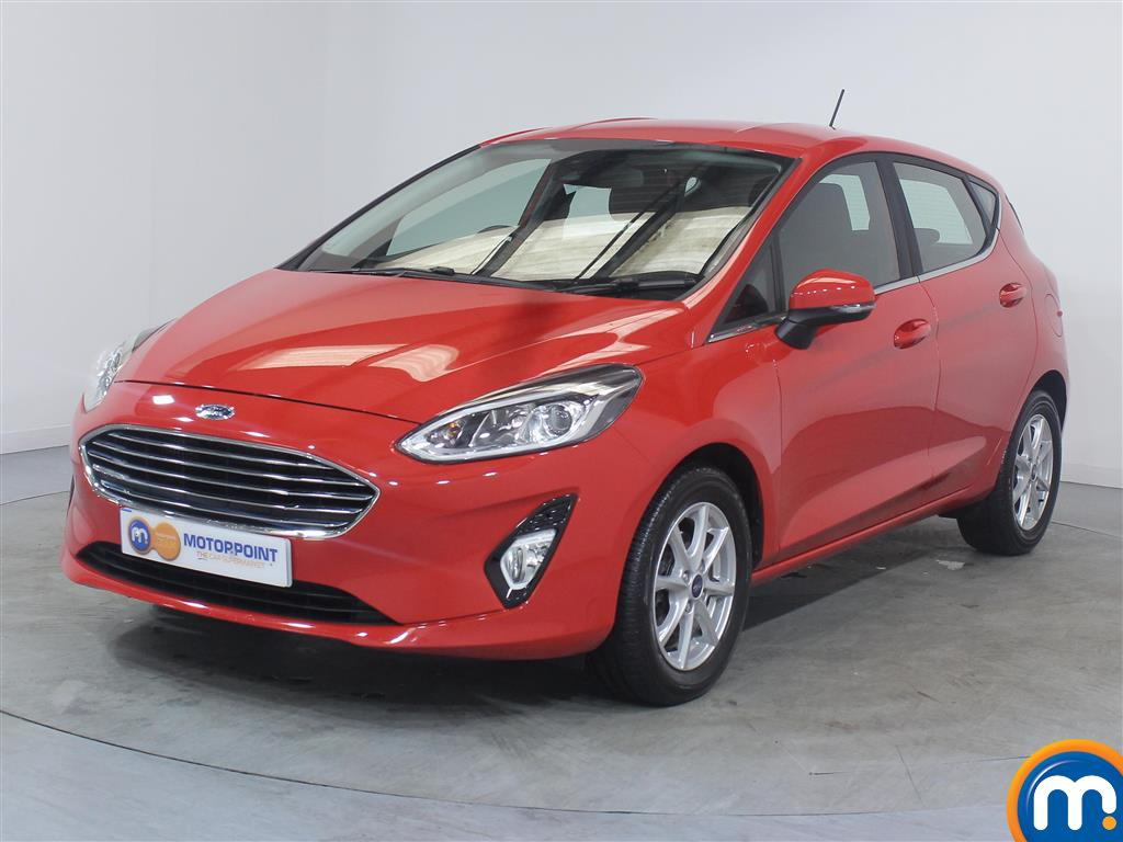 Ford Fiesta Zetec - Stock Number 1038257 Passenger side front corner