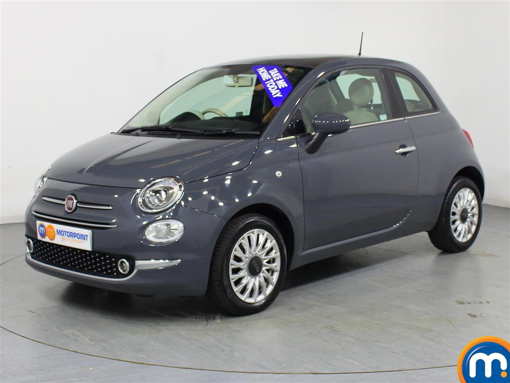 Fiat 500 Lounge - Stock Number 1036633 Passenger side front corner