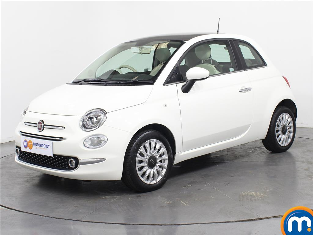 Fiat 500 Lounge - Stock Number (1036623) - Passenger side front corner