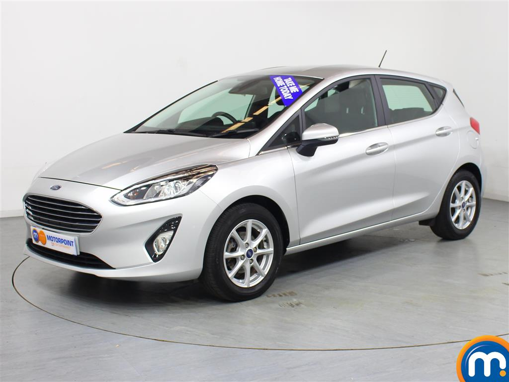 Ford Fiesta Zetec - Stock Number 1035972 Passenger side front corner